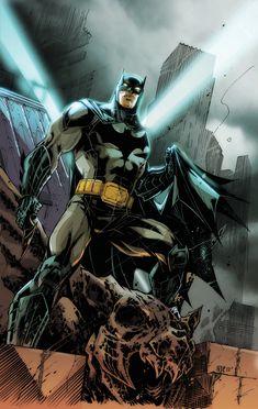 Batman by Oliver Nome, colors by Ed Nunez