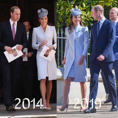 Easter 2014 in Australia, Easter 2019 at Windsor. Same dress, same smile 😍 . Prince George Alexander Louis, Prince William And Catherine, Prince Harry And Meghan, Princess Katherine, Princess Kate, Princess Charlotte, Duchess Kate, Duke And Duchess, Duchess Of Cambridge
