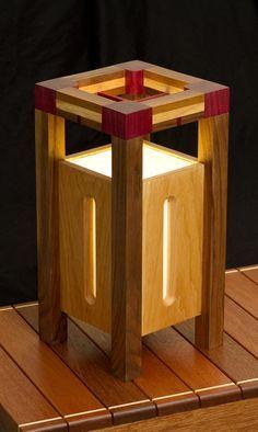 Japanese (inspired) Lamp
