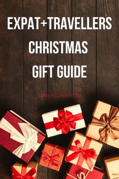 Find the perfect gift when you cant meet up. Christmas gifts for friends and family abroad. Inspiration for presents for Digital Nomads and travellers Christmas Gifts For Friends, Christmas Gift Guide, Gifts For Family, Christmas In Spain, Cool Pins, Travel Kits, Travel Essentials, Thoughtful Gifts, Presents