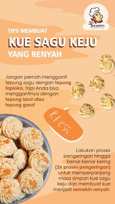 Cooking Cookies, Cookie Desserts, Love Eat, Love Food, Indonesian Food Traditional, Food N, Food And Drink, Easy Cooking, Cooking Recipes