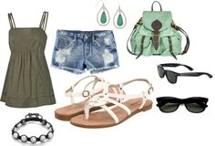 summer, created by lindsay-bennett on Polyvore