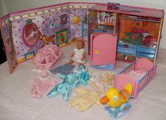 Mini Baby Born Set Kofferhaus   viel ZubehörMitnehmhaus - 1 Schublade fehlt -Mini Baby…