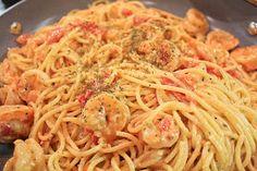 Lauren's Latest: Creamy Shrimp Pasta