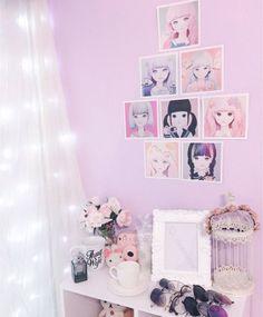 kawaii anime rooms decor theme otaku