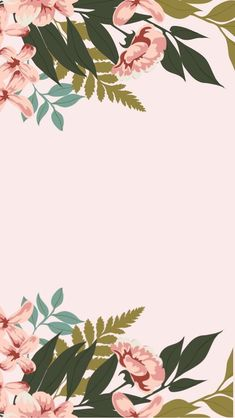Floral phone background