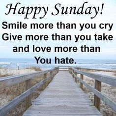 Happy Sunday Quotes 191 Best Sunday quotes images in 2019 | Good morning quotes  Happy Sunday Quotes