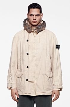 c31c2fcf STONE ISLAND 1989 - 1991The Ice Jacket was born. Created in heat-sensitive  fabric
