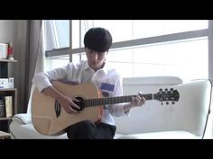 (Zion.T) No Make Up - Sungha Jung - YouTube