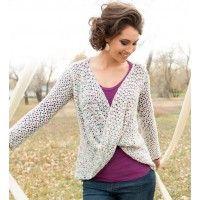 Lotus Sweater Pattern | InterweaveStore.com