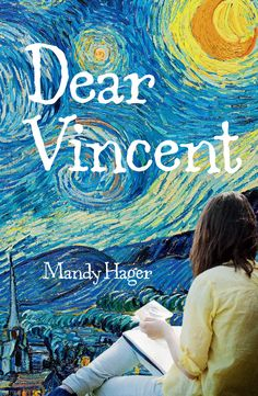 Cover of the book Dear Vincent, written by Whitireia graduate and tutor Mandy Hager.