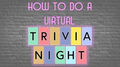 A tutorial on how to create and run a free virtual trivia night for friends, family, or your community. A great activity to do during while stuck at home. Virtual Family Games, Virtual Families, Family Weekend, Family Game Night, Fundraising Games, Fundraiser Party, Back To School Night, Family Engagement, Middle School Classroom