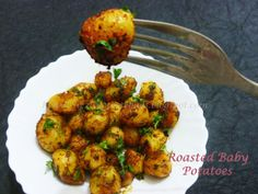 Home Made Recipes: Roasted Baby Potatoes