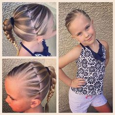 We have a lot going on today so I'm hoping that this elastics hairstyle will stay in all day! I will add a bun for dance tonight tho! Have a wonderful Monday!! #tinzbobenz #dancehair #swimming #summerstyle #summerhair #sofun #toocute #littlemodel #kidsfashion #kidshair #swimhair #swimstyle #cutegirlshairstyles #ponytail #hairideas #hairinspiration #hotd #hairstyle #braidsforgirls #braidsforlittlegirls #braidinspiration #braids #braidideas #instahair #instabraid #cgh3droundbraid #elasti...