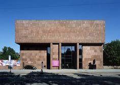 Kunsthalle Bielefeld, Germany  by Philip Johnson in 1966-68