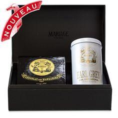 FRENCH! CHOCOLAT - Black tea & chocolates gift set Earl Grey Imperial®