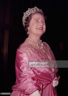 The QM, 1960, wearing the Greville tiara, visiting the Royal Festival Hall. Image courtesy of getty and ray bellisario/popperfoto