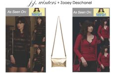 Zooey Deschanel in Style #364!!! Mix and Match with our removable straps!!!