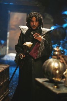 """Naveen Andrews, """"Once Upon A Time In Wonderland"""", 2013"""
