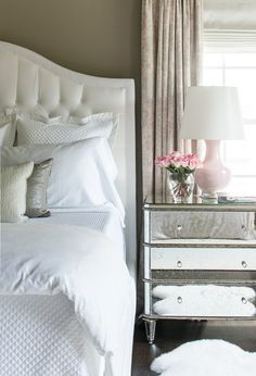It's the thoughtful - and not necessarily pricey - details that help create a sophisticated space like choosing nightstands with bling.