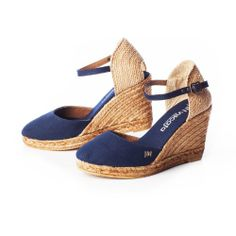 VISCATA Satuna Ankle-Strap, Closed Toe, Classic Espadrilles with 3-inch Heel  Price:$74.00 Sale:$69.00  You Save: $5.00 (6%)