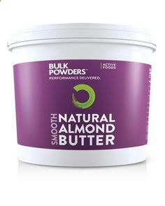 Active Foods™ Almond Butter has been manufactured exclusively for BULK POWDERS™. You wont find high quality, 100% natural Almond Butter anywhere else at this incredibly low price. Active Foods™ Almond Butter is entirely natural, containing nothing but great-tasting, skin-off, roasted almonds! It provides an excellent source of high quality protein and healthy fats, whilst avoiding added salt, sugar, palm oil and preservatives.