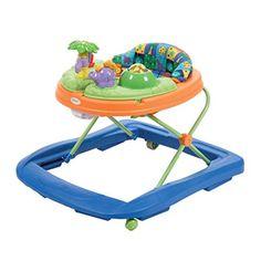 Cosco Girls Midnight Garden Baby Walker Padded Seat Toy Tray Steering Wheel NEW