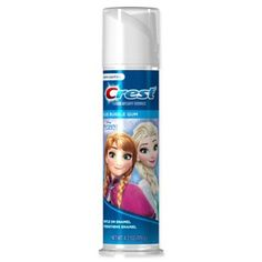 pack) Crest Kid's Cavity Protection Toothpaste (for Kids and Toddlers Featuring Disney's Frozen, Blue Bubble Gum, Ounce Image 1 of 2 Cavities In Kids, Flavored Toothpaste, Bubble Gum Flavor, Gum Flavors, Kids Bubbles, Frozen Toys, Disney Frozen Birthday, How To Memorize Things