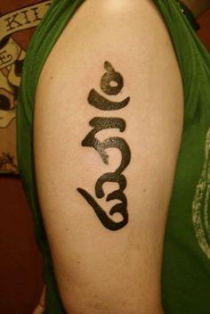 Buddhist Symbols Tattoo