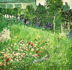 Vincent van Gogh (1853-1890), Daubigny's Garden at Auvers, 1890  .