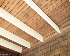 love the cedar, but with more substantial beams