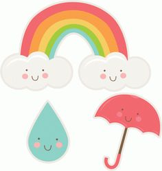 Cute Happy Spring Clipart