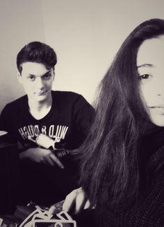 Selfie with a school friend