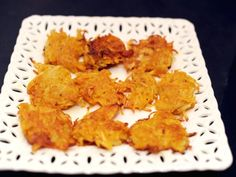 Pumpkin Potato Latkes from Serious Eats (http://punchfork.com/recipe/Pumpkin-Potato-Latkes-Serious-Eats)