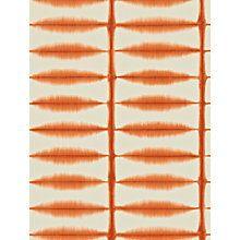 Shibori by Scion - Orange - Wallpaper : Wallpaper Direct Shibori, Feature Wallpaper, Wall Wallpaper, Orange Wallpaper, Textiles, Wallpaper Online, Scion, Fox Design, Exotic