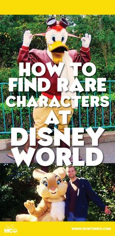 Some great tips on where to find those hard to get Disney character meet and greets.
