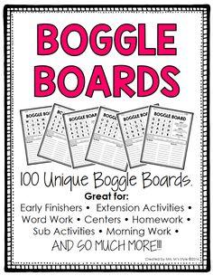 Boogle Board