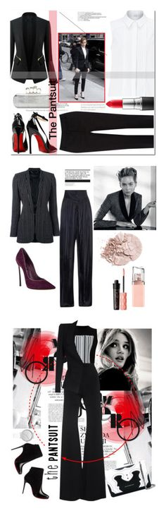 """Winners for The Pantsuit"" by polyvore ❤ liked on Polyvore featuring Stop Staring!, Chicsense, John Lewis, Oasis, Posh Girl, Alexander McQueen, MAC Cosmetics, EmmaWatson, thepantsuit and Barbara Bui"