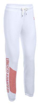 Under Armour Favorite Fleece Pants for Ladies - White - XL