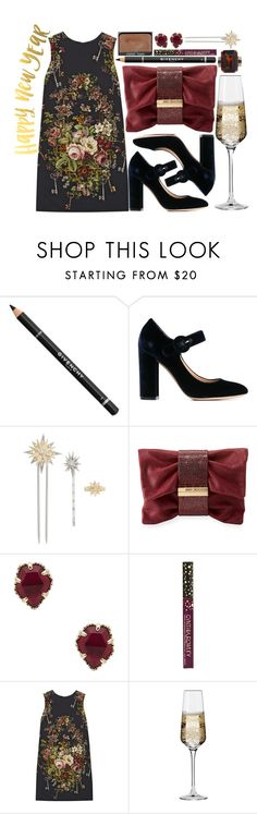 """Happy New Year!!!🎉"" by karllydolly ❤ liked on Polyvore featuring Givenchy, Gianvito Rossi, Henri Bendel, Jimmy Choo, Kendra Scott, NARS Cosmetics, Cynthia Rowley, Dolce&Gabbana, Krosno and 2017"