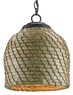 Beehive Pendant Light | Currey and Company
