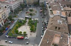 View from the Cathedral bell tower in Valencia Valencia, Attraction, Cathedral, Spain, Tower, Lathe, Cathedrals, Towers, Ely Cathedral