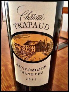 El Alma del Vino.: Château Trapaud 2012.