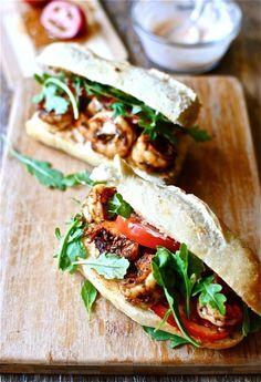 Celebrate Mardi Gras with these delicious shrimp po' boys