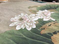 [민화]공필화 연화도 연꽃바림 연잎바림 팝페인터 피오니그림방 : 네이버 블로그 Paintings, Design, Paint, Painting Art, Painting, Painted Canvas, Drawings, Grimm