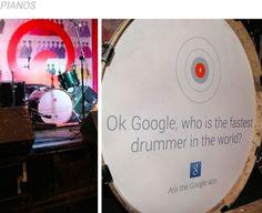 Google'ın yeni kampanyası kentin dokusuyla bütünleşmeyi başarıyor.