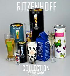 Ritzenhoff Glass Designs by Rob Snow, via Behance