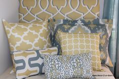 custom dorm room bedding and headboard 100s of fabrics to choose from. order your today! www.decor-2-ur-door.com