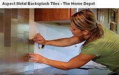 backsplash from Home Depot