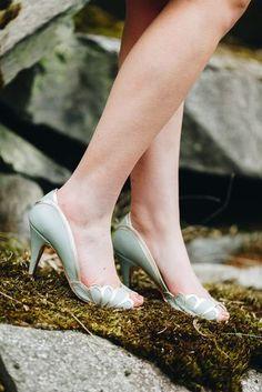 Brautschuhe Rachel Simpson Shoes (Foto: Le Hai Linh)